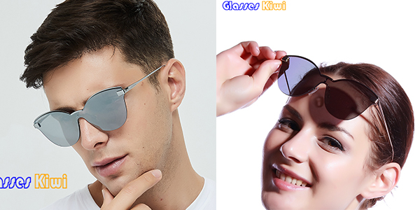 Why do high-end sunglasses use nylon polarized lenses?